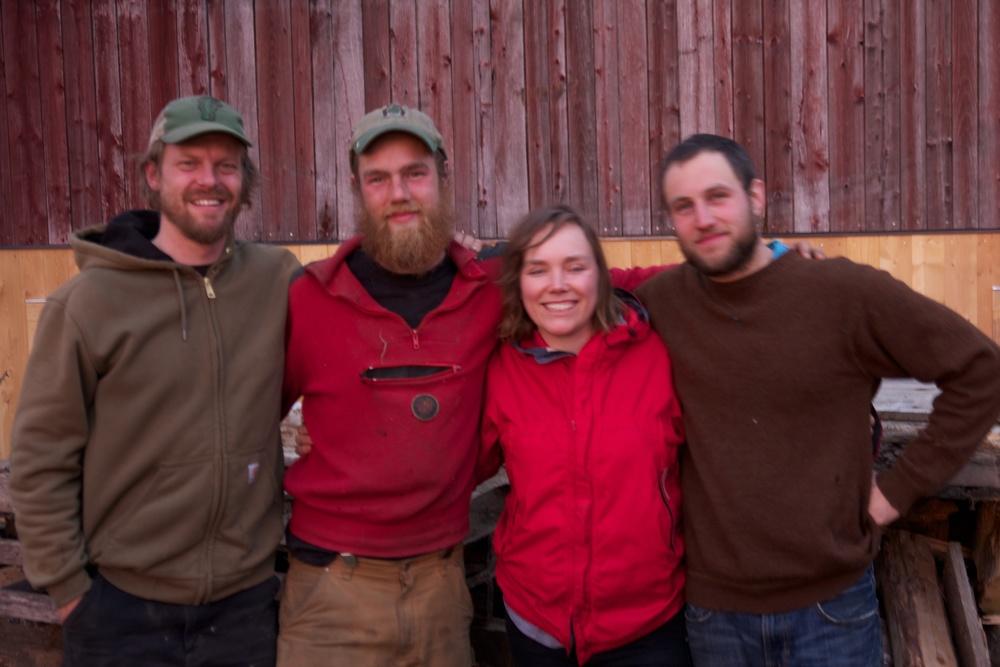 Tom, John, Jenn, & Tyler