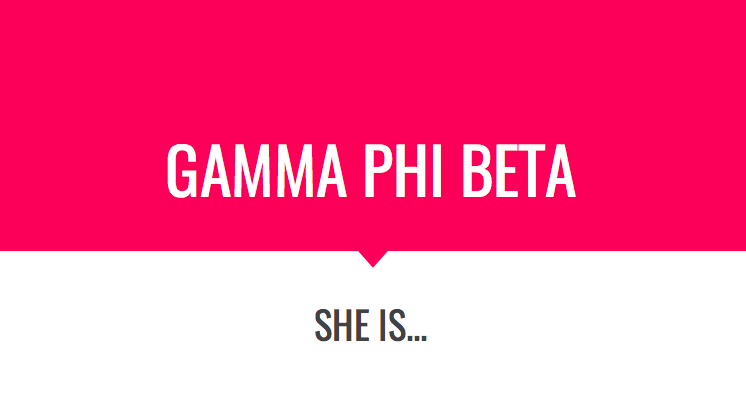 About Gamma Phi Beta