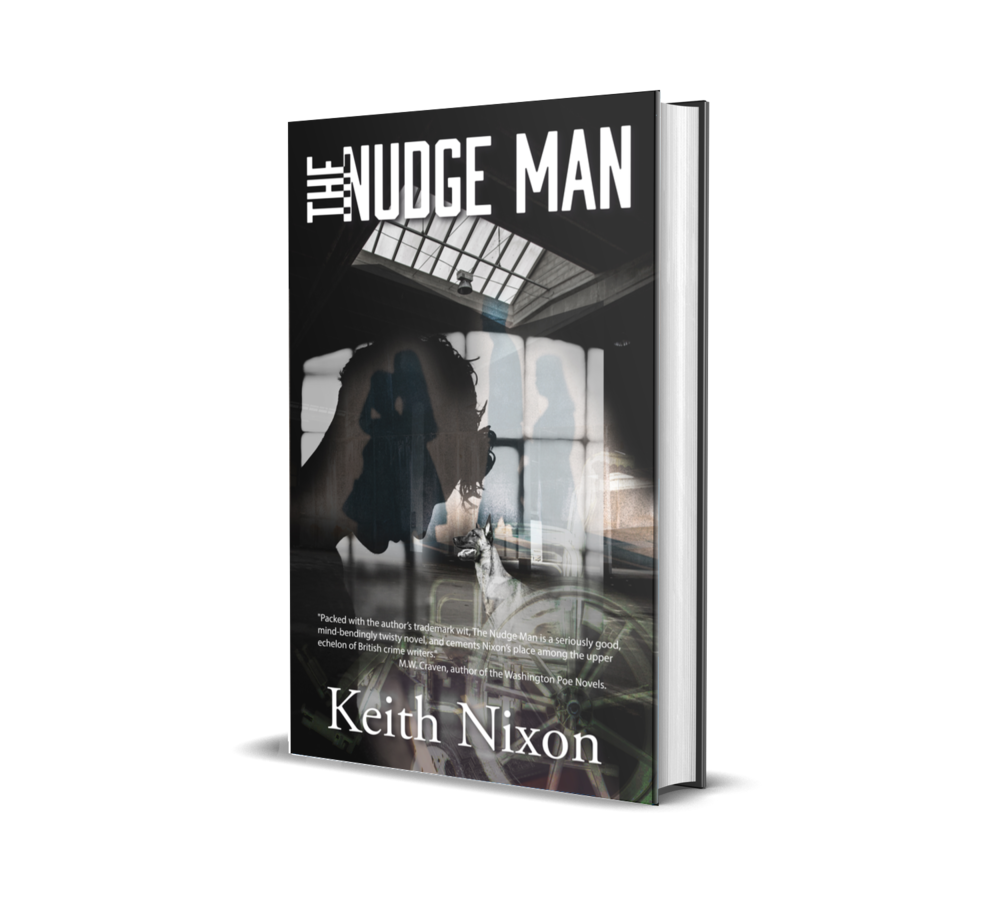 The Nudge Man - A washed up reporter, an escaped convict, a sociopathic gangster. All are hunting The Nudge Man…Born again, ex-gangster, Eric Hennessey offers down on his luck reporter, Harrison Vaughan, a job. Track down The Nudge Man, a mysterious vigilante who's stolen most of Hennessey's money, ill-gotten gains which now Hennessey wants to use to do God's work. Trouble is, Harry has no desire to work for a sociopathic murderer, even if he is an apparently changed man.Harry is estranged from his family since a fabricated scandal destroyed his career. Hennessey tells Vaughan it was The Nudge Man who set him up for the fall. Find The Nudge Man and Harry has the chance for redemption and maybe even his family back.However, Hennessey has another objective in mind. Unknown to Harry his family were taken into witness protection and had to cut ties with everyone after Harry's son saw a murder – carried out by Eric Hennessey. Hennessey has been looking for them ever since and now may have a way in – Harry himself.And others are on the trail of The Nudge Man, including the British government and an American secret service agent. Then there's the lawyer who offers Harry £1m to stay away from The Nudge Man.With more questions than answers and hapless guard dog Bonzo, whose bark is definitely worse than his bite, at his side Harry begins his search.Can Harry find The Nudge Man and save his family? Or will Hennessey exact his revenge?