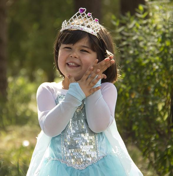 Happy little princess