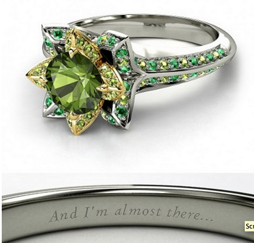 Tiana wedding ring