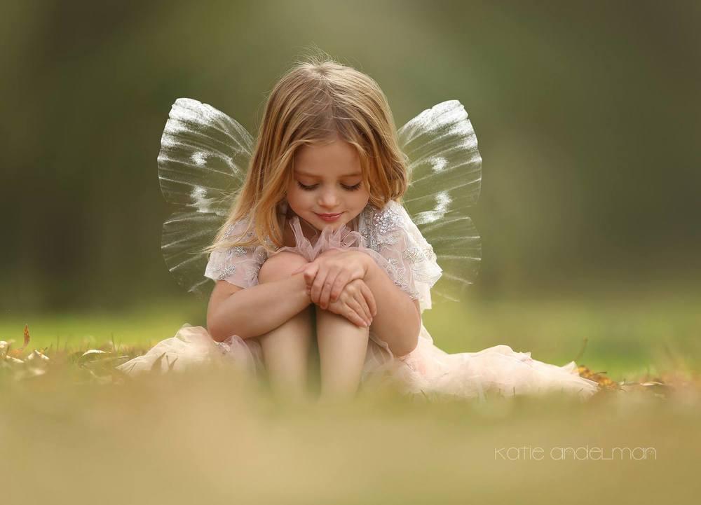 Cute little fairy Katie Andelman