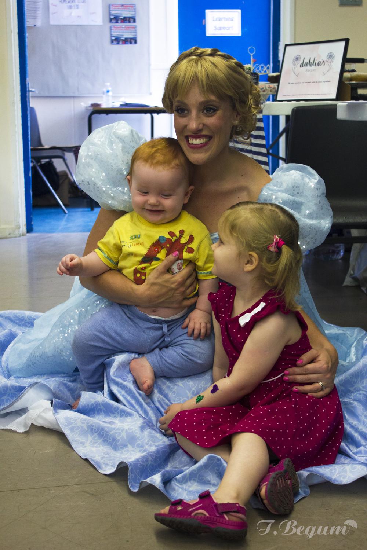 Baby with Cinderella