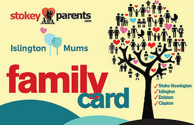 Islington Mums Family Card
