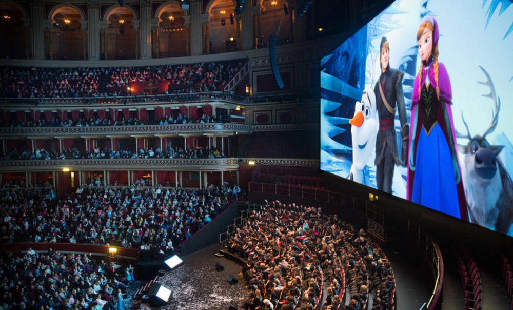 Frozen royal albert hall
