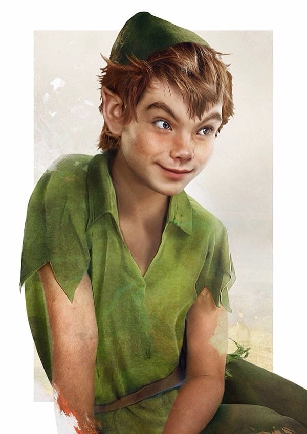 Not exactly a prince, but equally awesome, Peter Pan