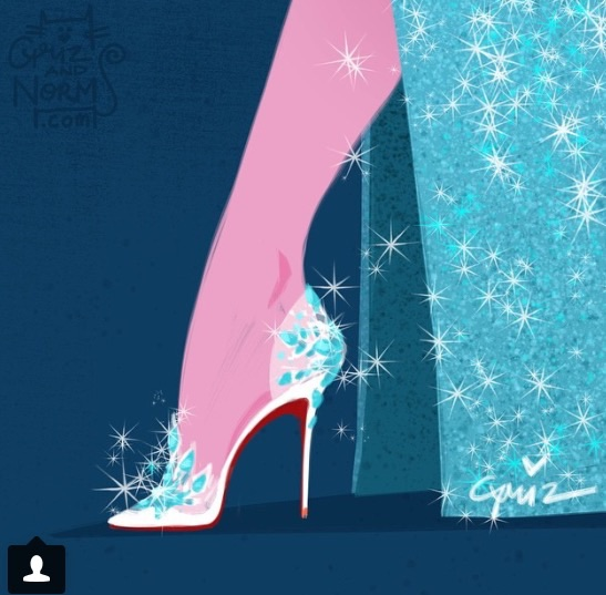 If you're an Ice Queen, then these Louboutins would fit you perfectly!!