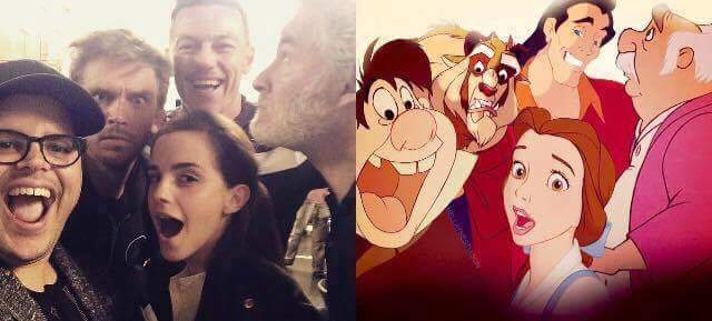 Beauty & the Beast cast
