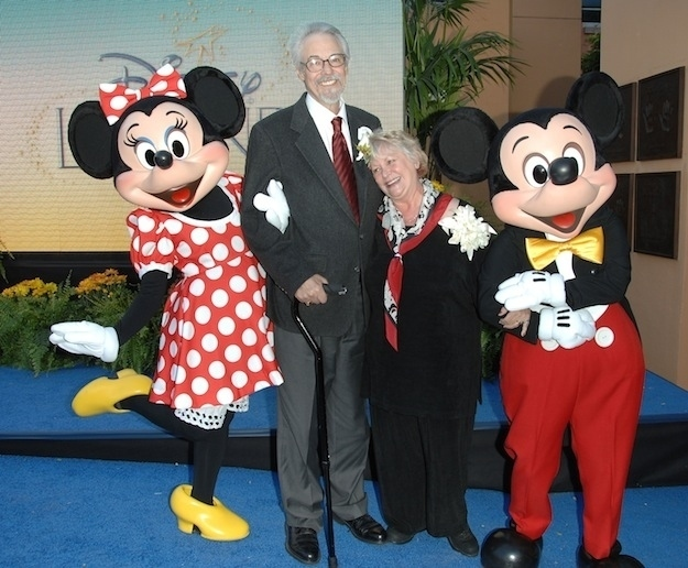 mickey and minnie real life