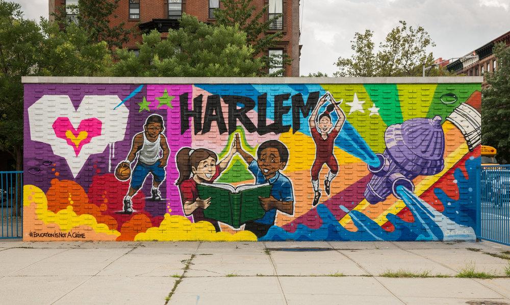 "TatsCru from the Bronx says ""Harlem"""