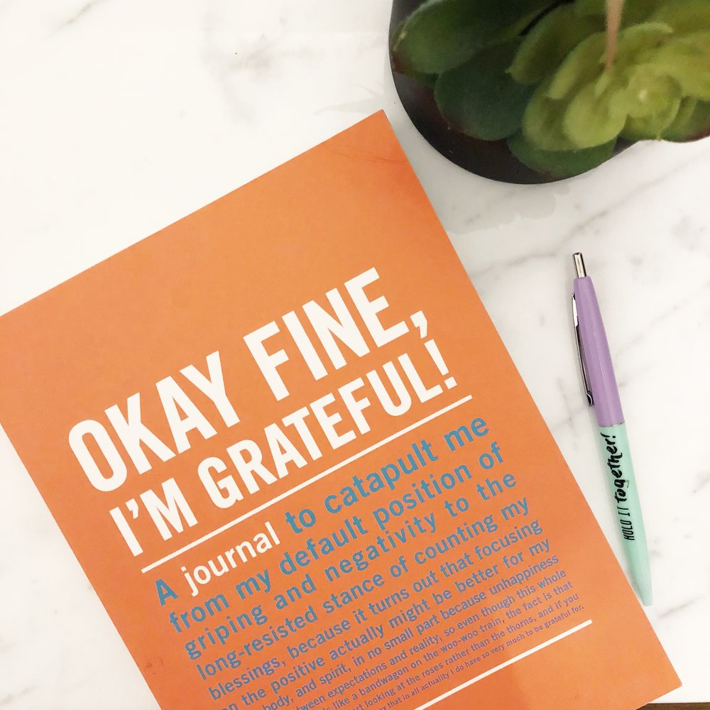 I'm a big believer in the power of gratitude. I'm also really big on writing it down. In 2011 I ended up at a very low point in my life and daily gratitude helped to not only change my perspective, but it changed my life. All about that mind shift! I would start out with a list in 2011 that only included the basics, that's all I had. Things like sunshine, a cup of coffee, breath, legs that took me on a long run, palm trees, the beach, my dog. Seriously SIMPLE. Start where you are. Eventually I started   journaling   with gratitude for things to come-- a husband, a job I loved, my own home, a nicer car, clear skin, a circle of friends to trust. Little by little the gratitude turned to reality. If you try only one tool, try a   gratitude journal  .