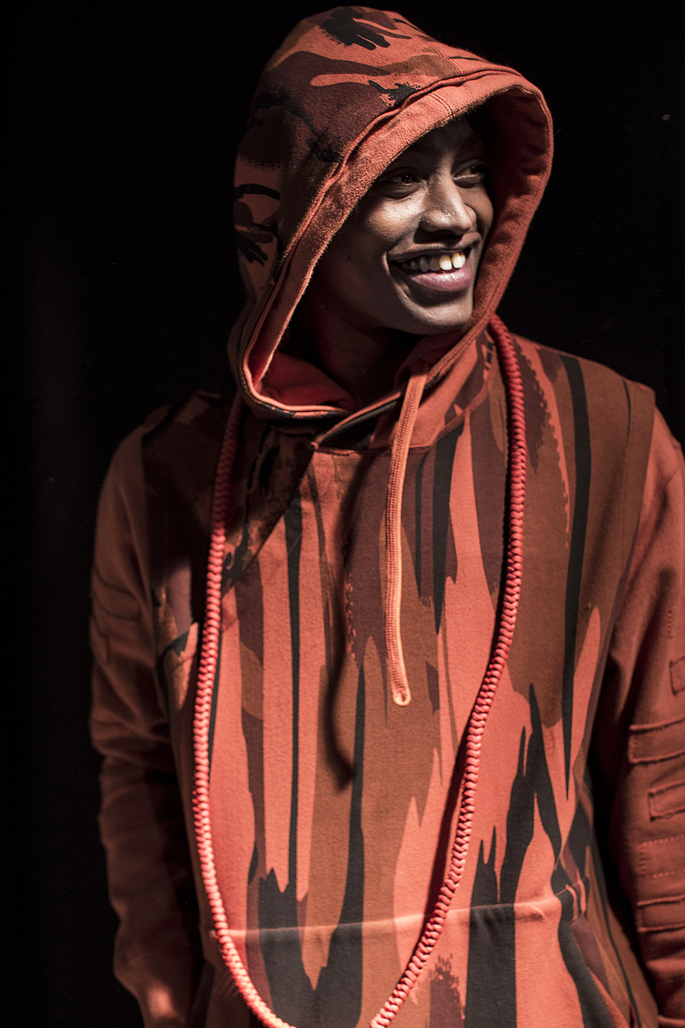 London Collections LCM-Maharishi-Hoodie Autumn Winter 2016 Lillie Eiger.png