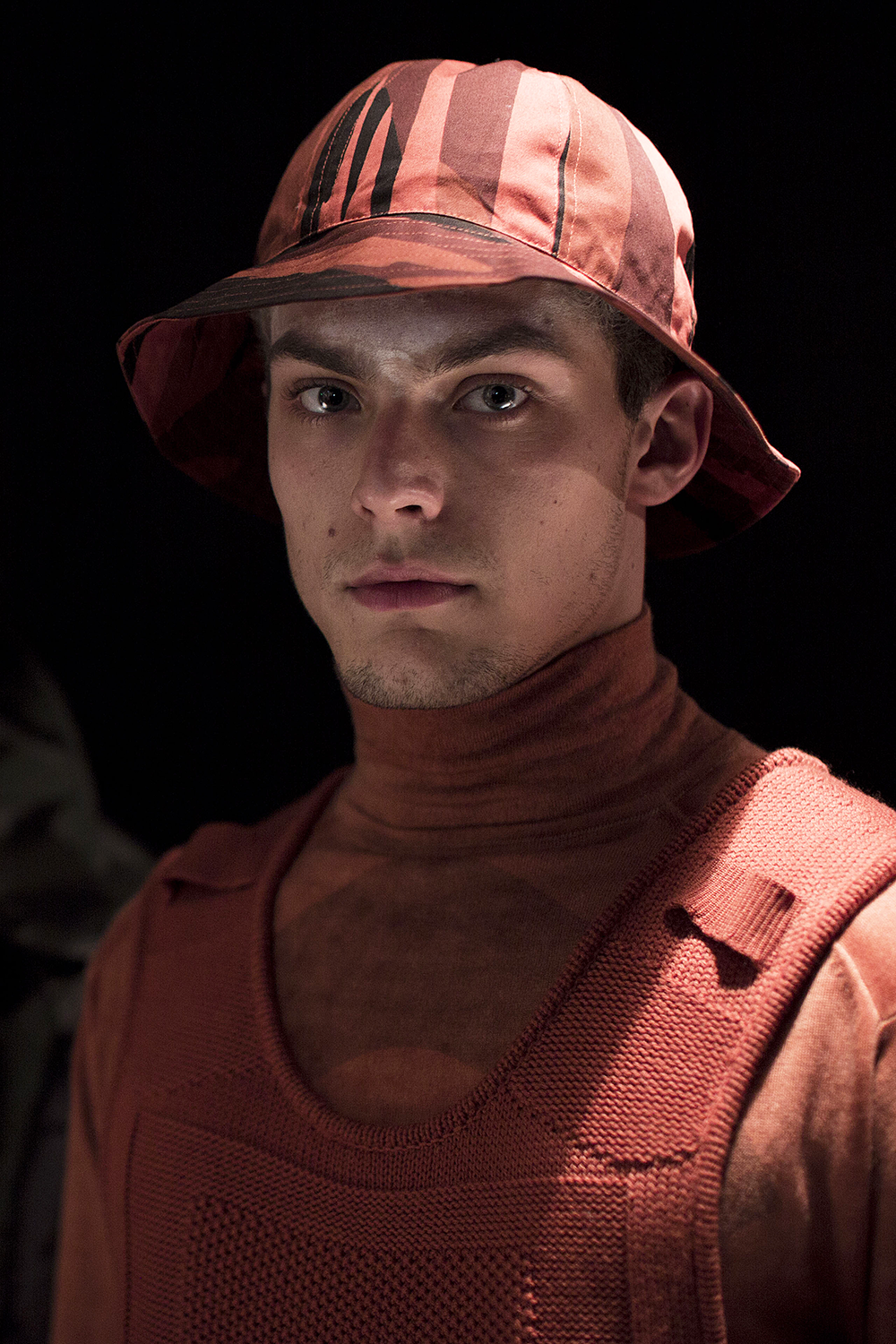 London Collections LCM-Maharishi-Bucket Hat Autumn Winter 2016 Lillie Eiger.png