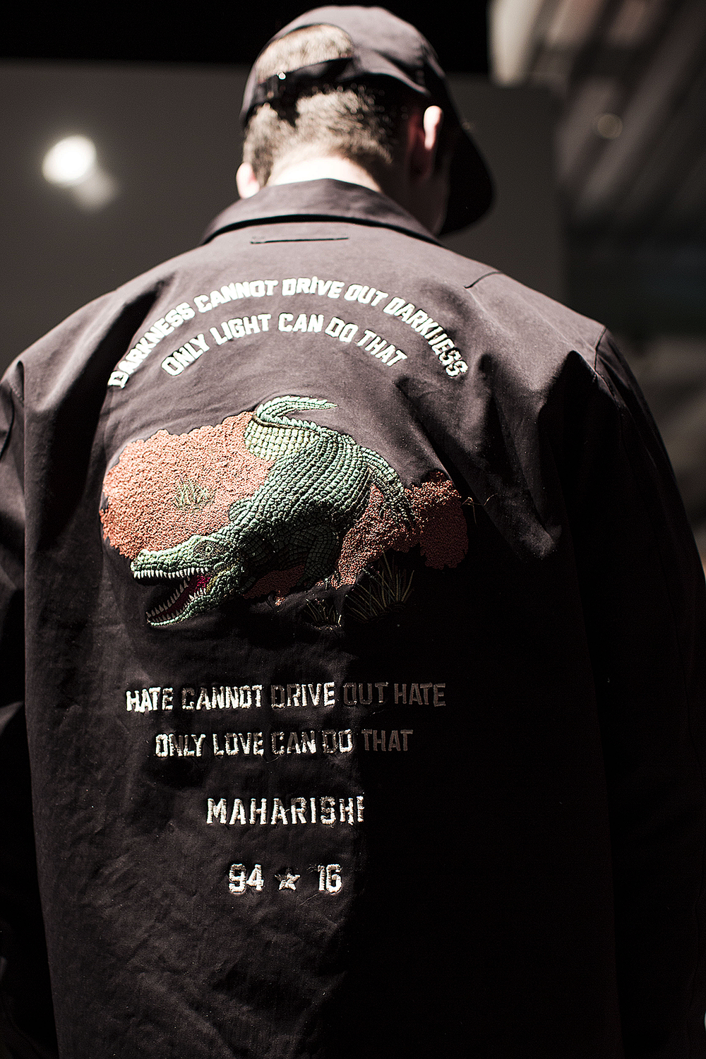 London Collections LCM-Maharishi-Darkness cannot Drive out Darkness Autumn Winter 2016 Lillie Eiger.png