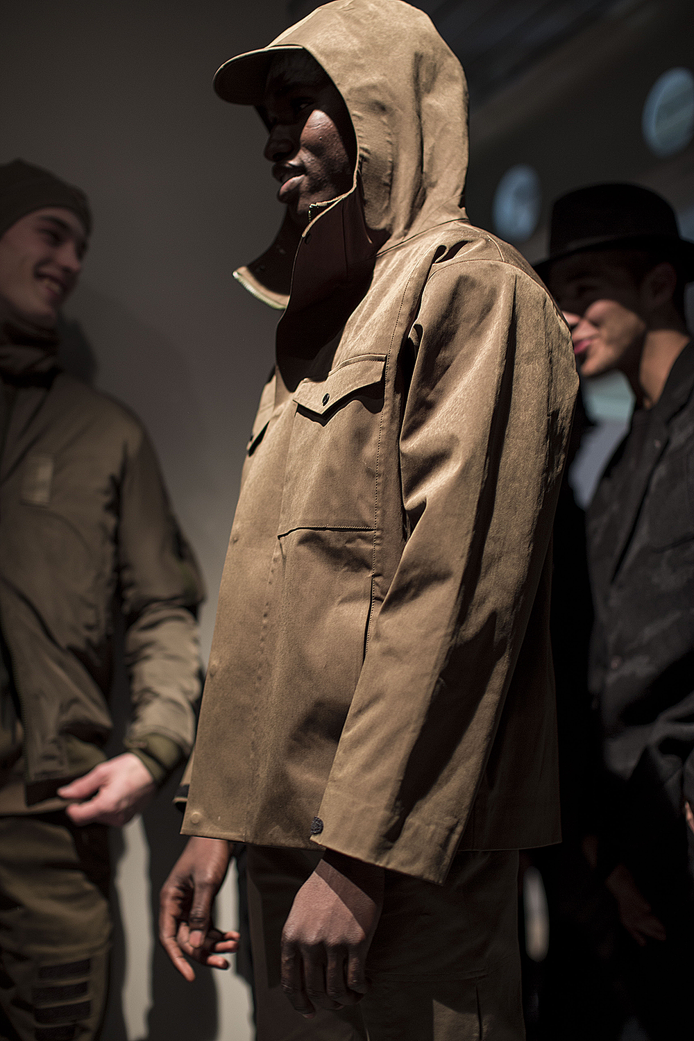 London Collections LCM-Maharishi Hooded Jacket Cagoule -Autumn Winter 2016 Lillie Eiger.png