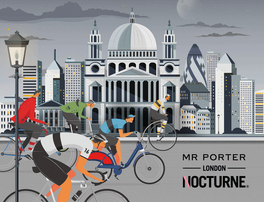 Illustration by Neil Stevens for MR PORTER