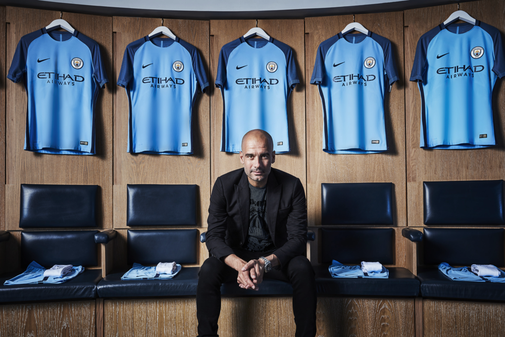 Pep Guardiola New Man City Home Kit Nike 2017.png
