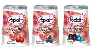 Yoplait Yogurt fruit on bottom