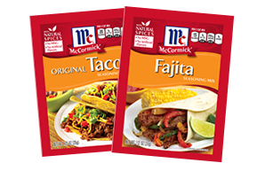 seasoning packets spices