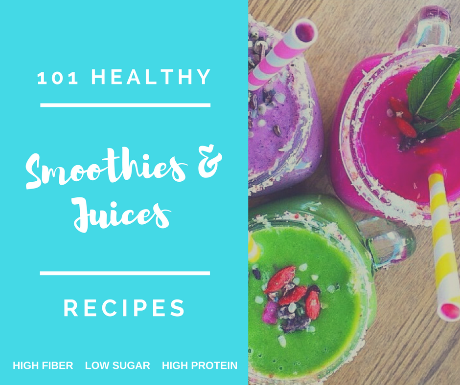 healthy smoothies and juices