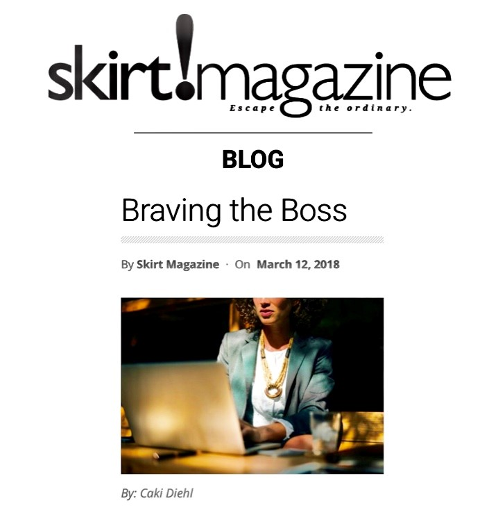 Skirt magazine brave