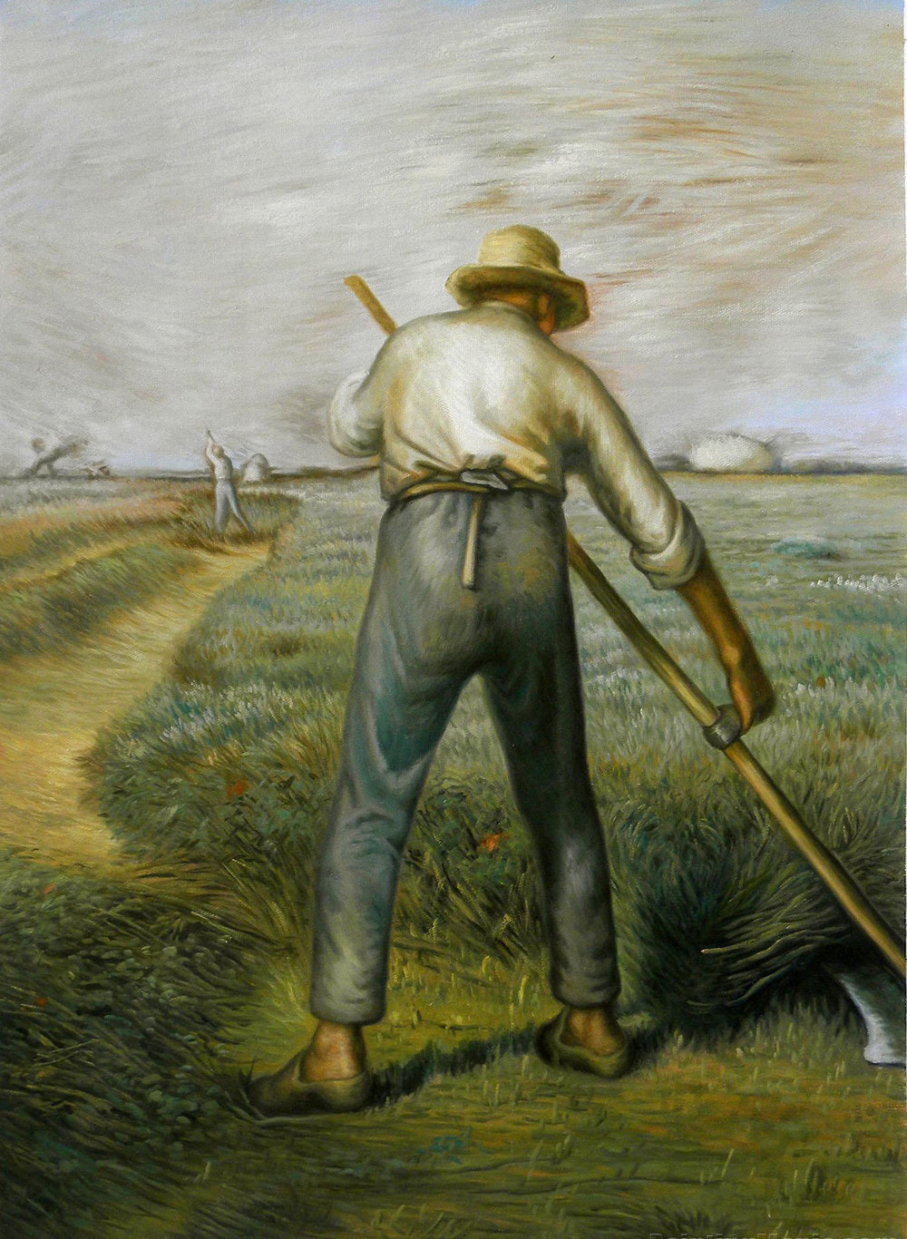 The Reaper, Jean-Francois Millet; 1853; oil on canvas.