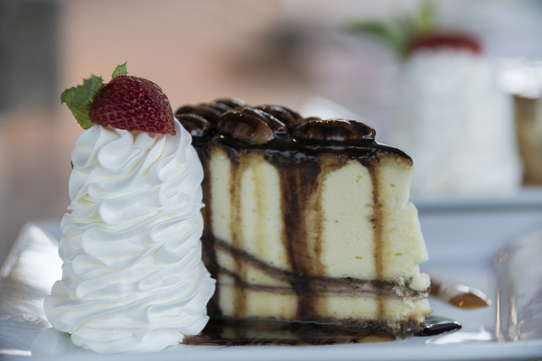 Home made desserts are prepared at Blue Marlin Grille by Chef Leandro.