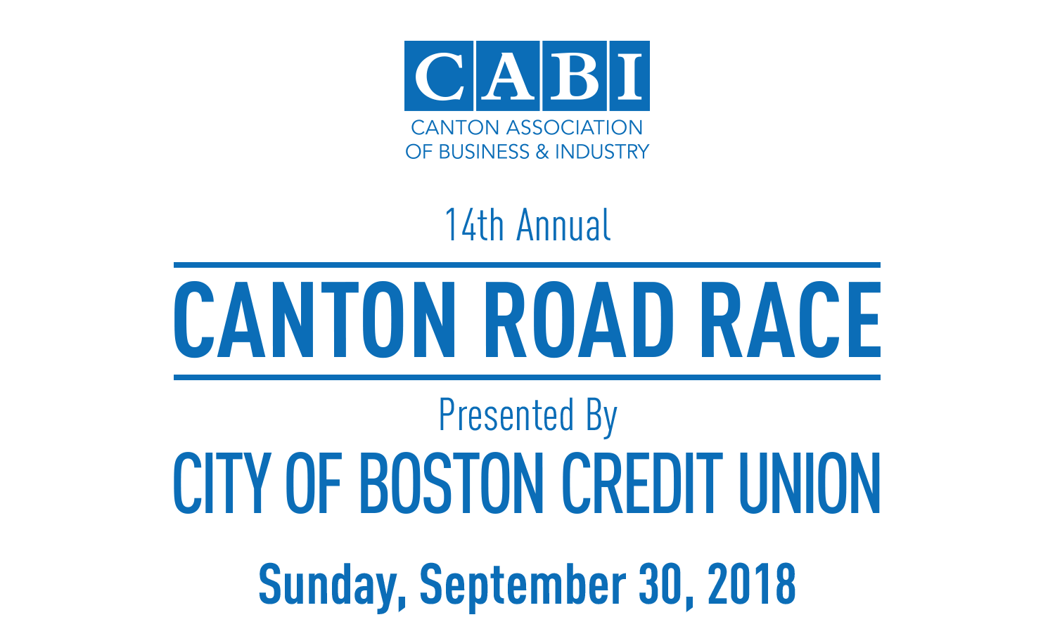 In-Kind Donations — Canton Road Race