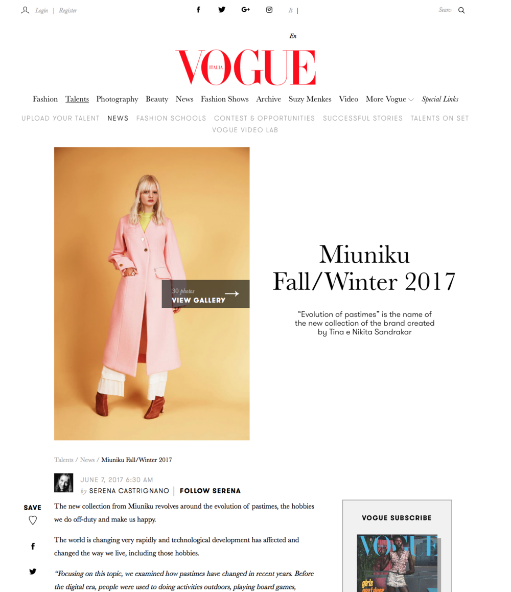 Vogue. it