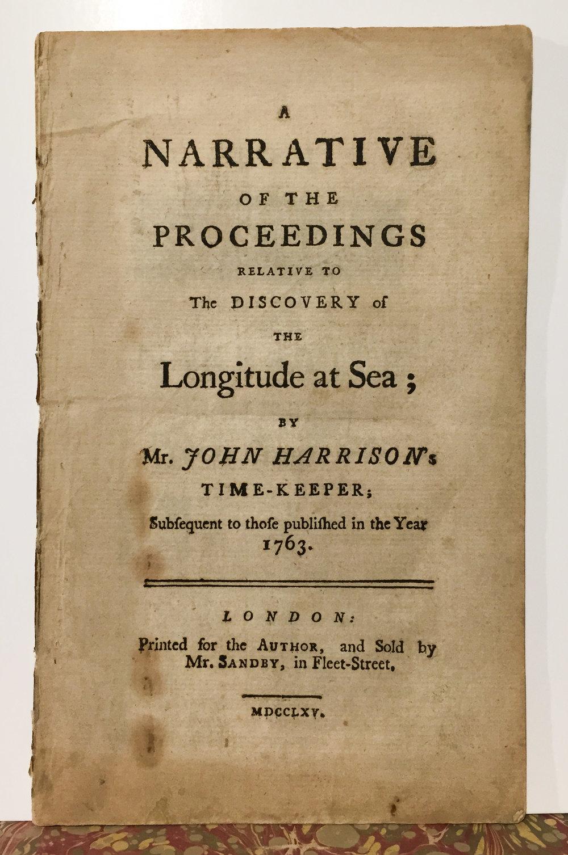 Harrison. Discovery of Longitude