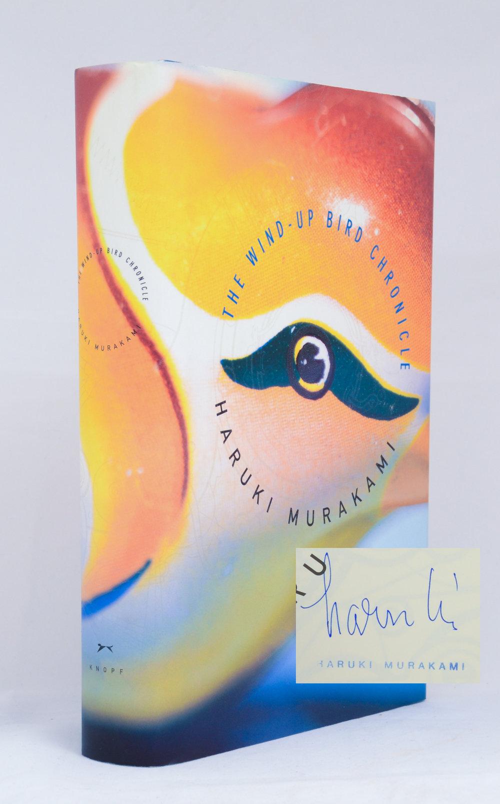 Murakami. Wind-Up Bird Chronicle. Signed