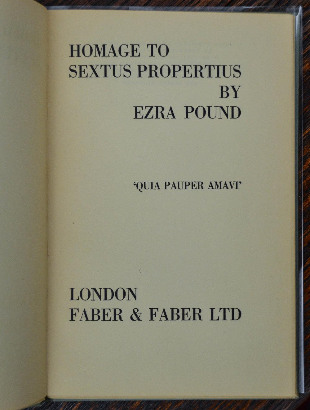 Pound. Propertius.jpg