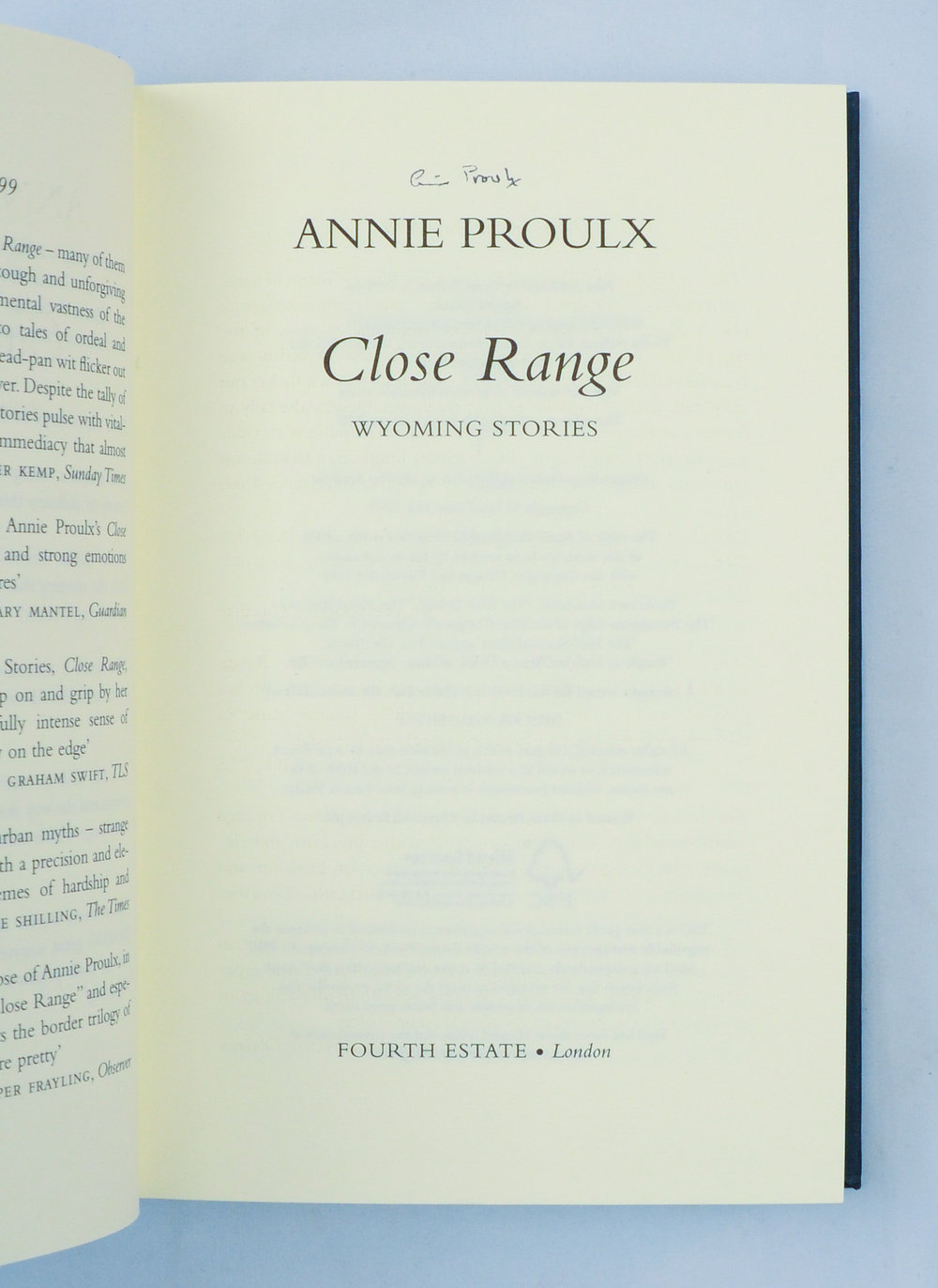 Proulx. Close Range. Title.jpg