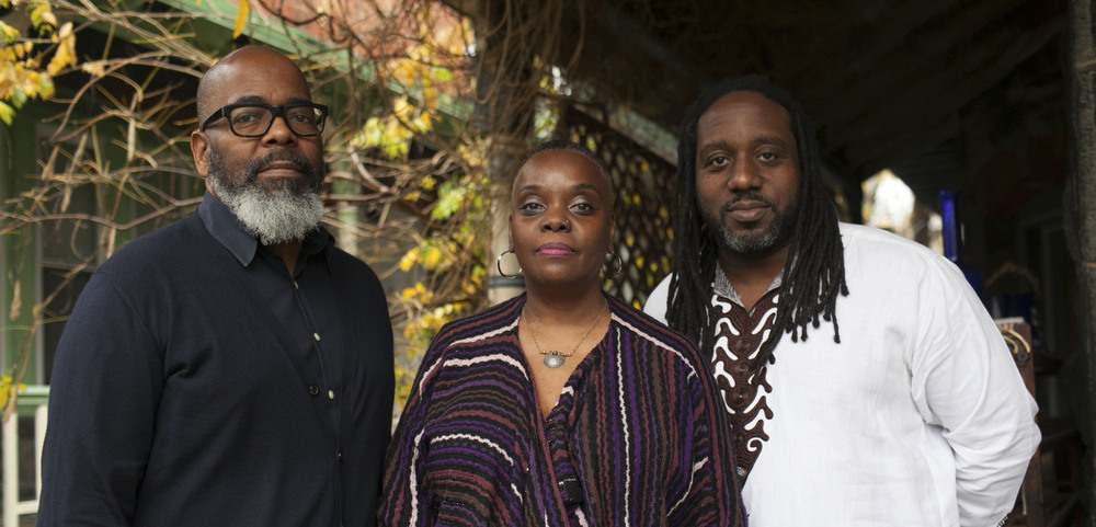 From left to right: Michael Clemmons, Vashti DuBois , and Ian Friday, (photo courtesy of Zamani Feelings)