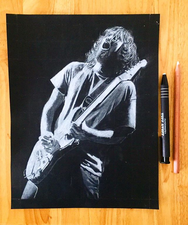 Aw, clean it up John! 🖍@shayyp #RHCP #Guitar #Legend #Art #Artist #Sketch #Portrait #Drawing #Music #Rock #Band #Brooklyn #NYC