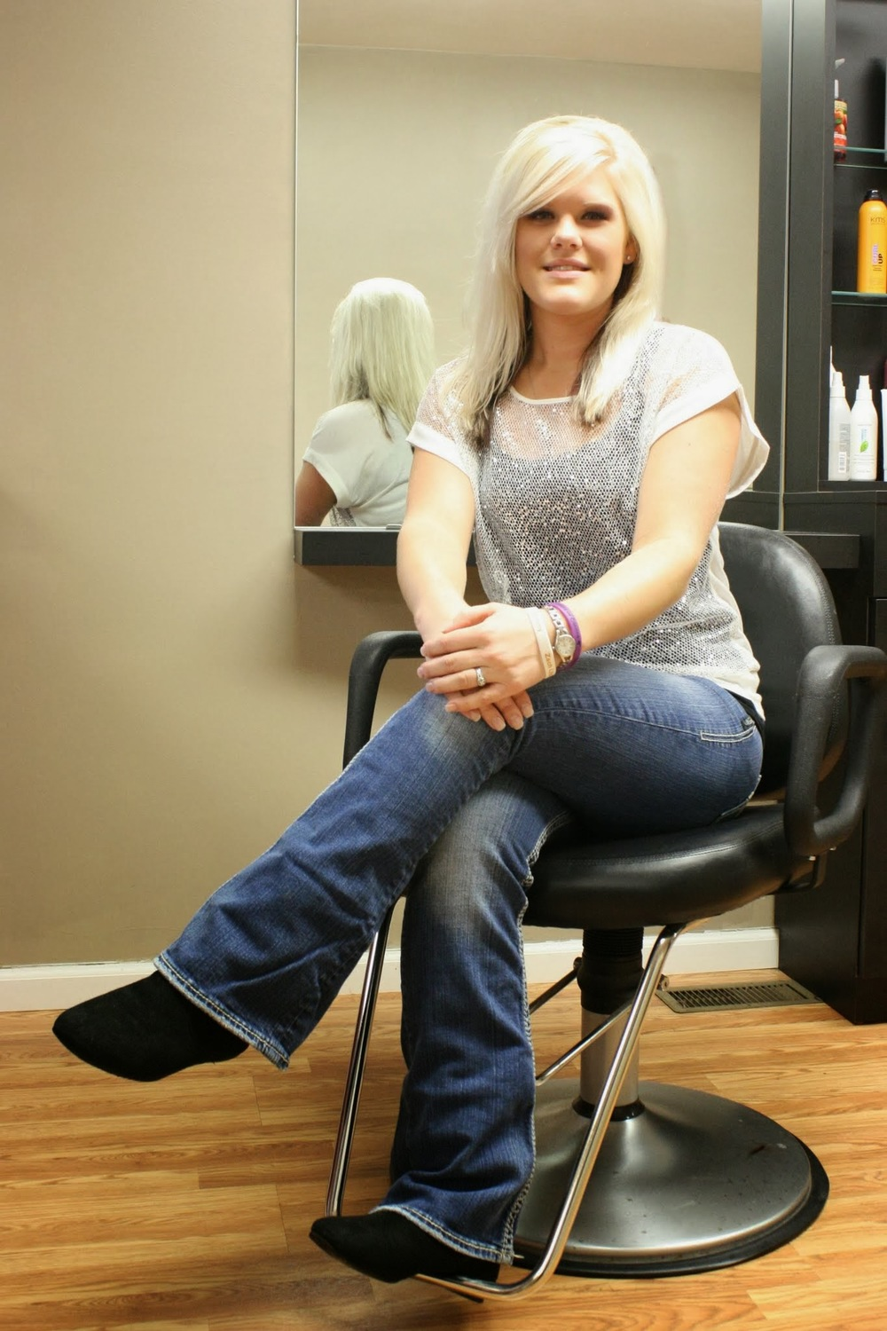 Emily  Stylist/Nail Tech  Emily has been with us 3 years. She offers a wide range of services from manicures & pedicures to cutting and coloring. She is available for appointments Wednesday 5pm-8pm or Saturdays 8am-1pm.