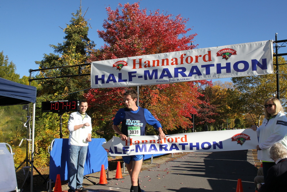 2015 Mohawk Hudson River Marathon and Hannaford Half Marathon overall winners.  Ken Shelton Photography