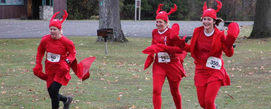 Lobsters at the 2014 Hairy Gorilla Half and Squirrelly Six.