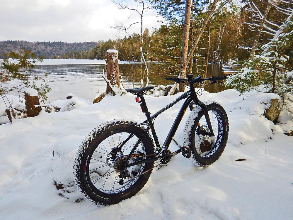 """If you have not had the pleasure of a nice snowy fat bike ride you should give it a try. Not going to replace a ski day for me but nice to have in the quiver for some of those other days."" – Kenny Boettger, Placid Planet Bicycles"