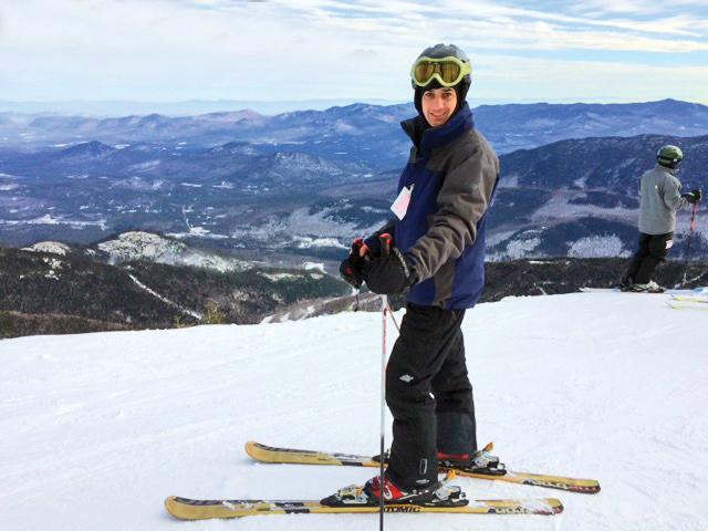 Pete on Whiteface Mountain.