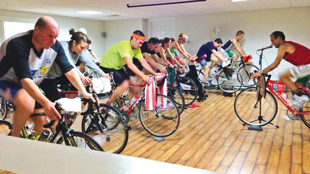 2015 spinning class at 365 Fit in Delmar.   CBRC