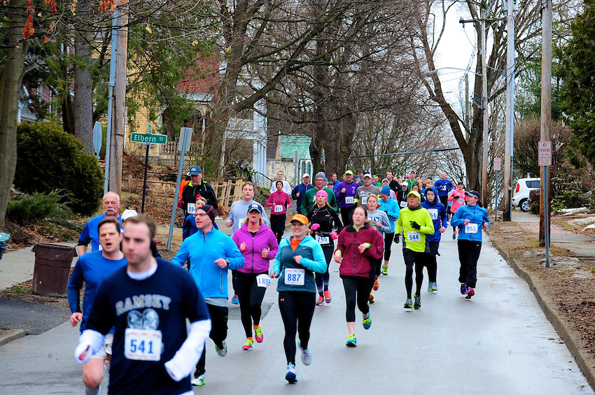 2015 Blue Needs You 8K on the East side of Saratoga Springs. Bruce McDonough