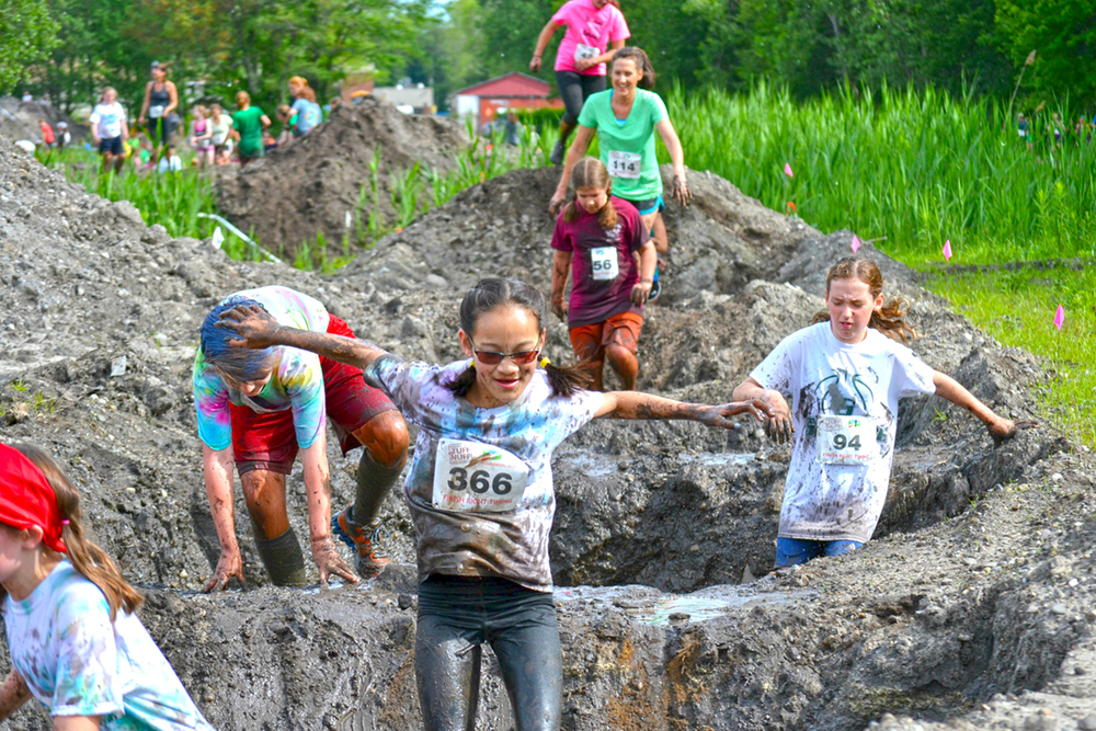 ▲   Mud and fun at the 2015 Tuff eNuff Obstacle Course Challenge in Saratoga Springs.