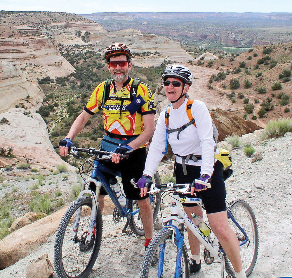 On Kokopelli Trail in Colorado, 2005.
