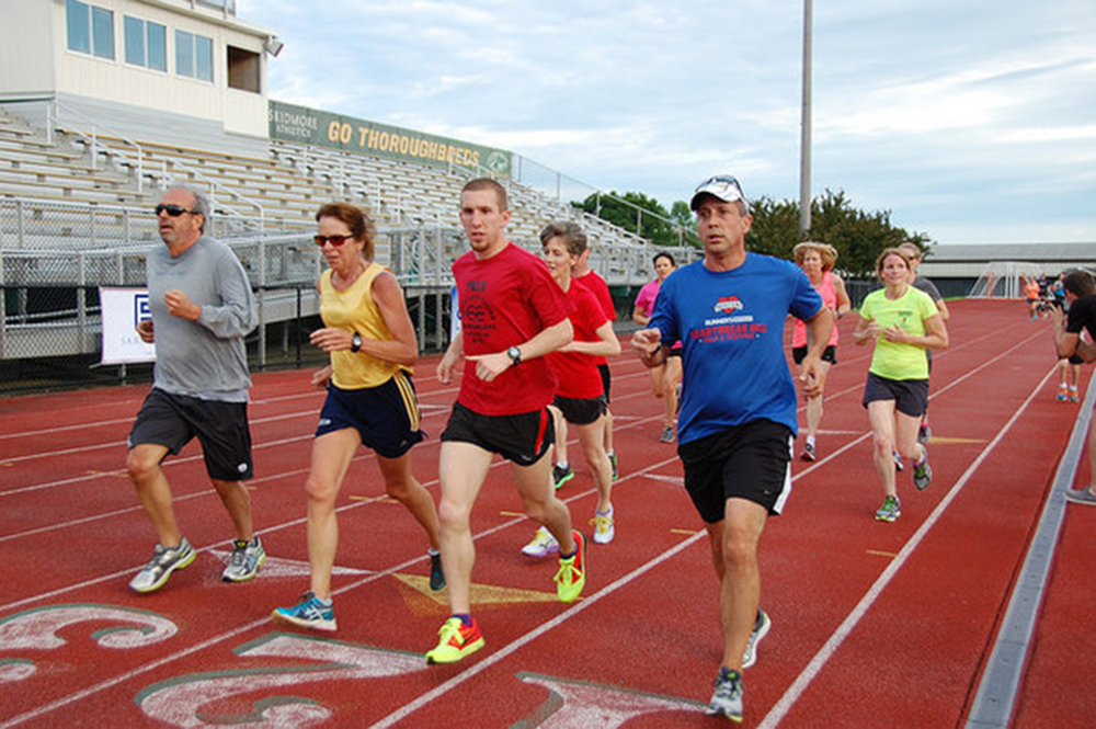 """Faster Farther"" 10K/15K training with Fleet Feet Sports at Skidmore College. Fleet Feet Albany & Malta"