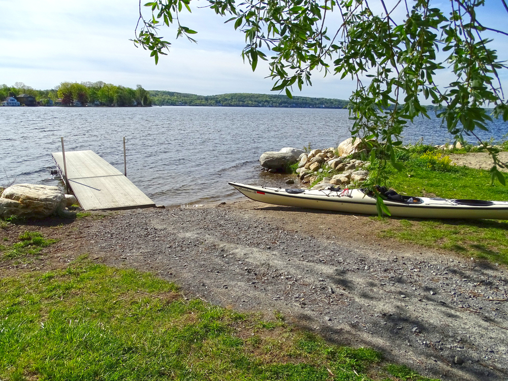 The new launch area at Waterfront Park on Saratoga Lake.  Alan Mapes