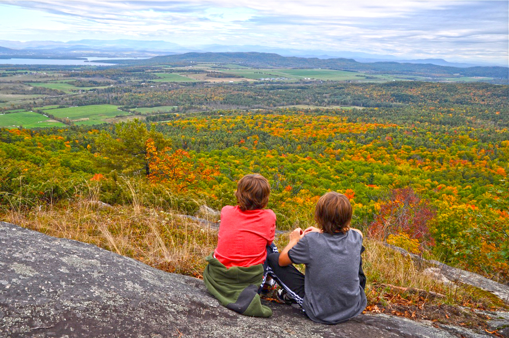 CATS Wildway Overlook Trail provides spectacular views after a short walk.  Jill Piper