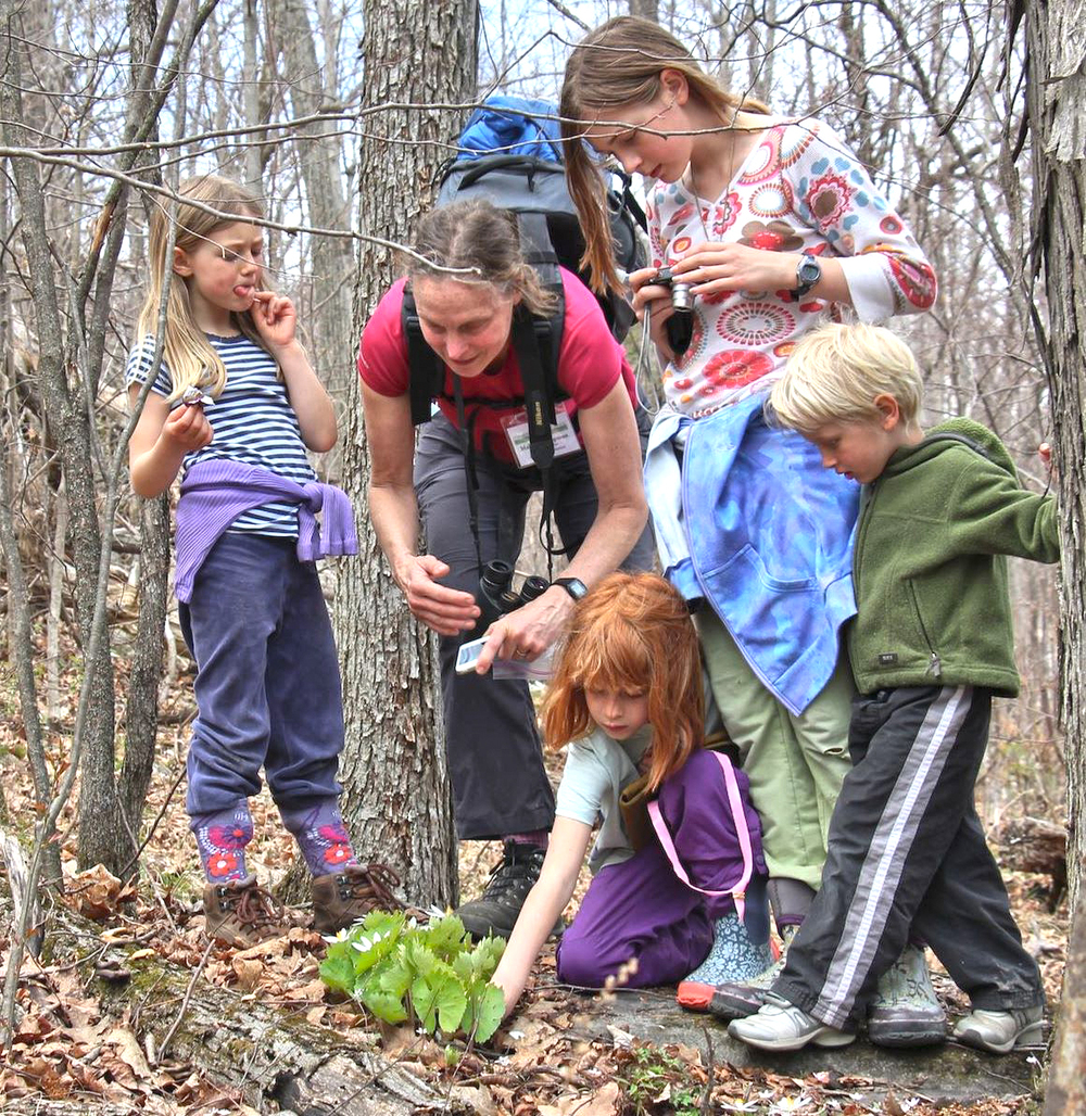 CATS offers numerous outdoor education hikes throughout the year.  Chris Maron