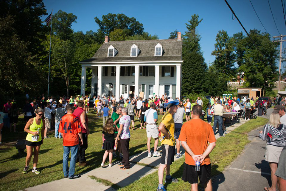 Jailhouse Rock 5K post-race at Brookside Museum in Ballston Spa.