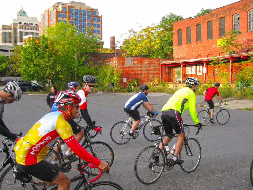 2015 Tour de Habitat begins roll out in Albany.  Habitat Capital District
